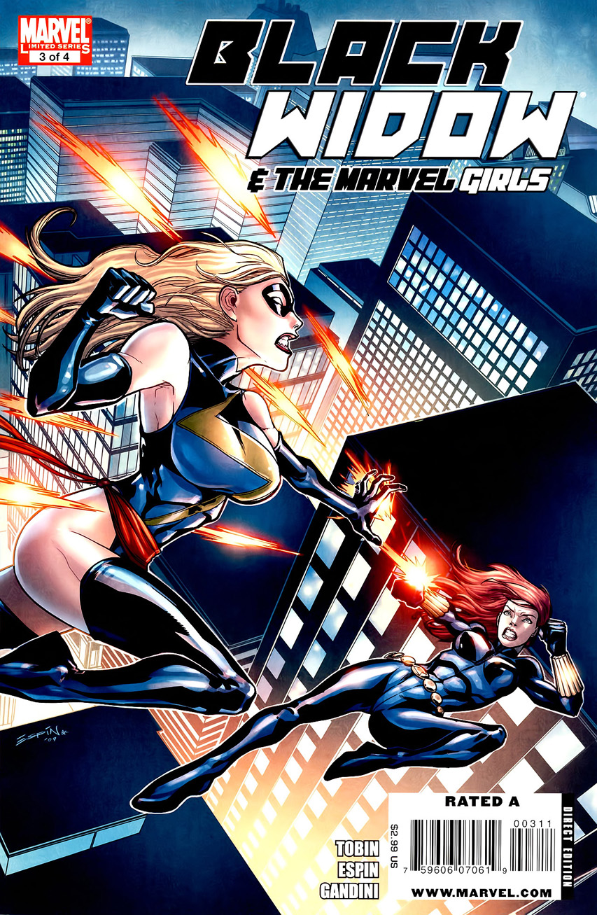 Black Widow and the Marvel Girls Vol 1 3