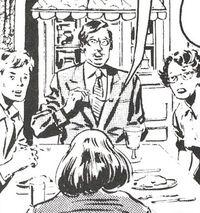 Braddock Dinner Party (Earth-616) 02 from Captain Britain Vol 1 27 0001.jpg