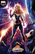 Captain Marvel Vol 10 1 JSC Exclusive Variant A