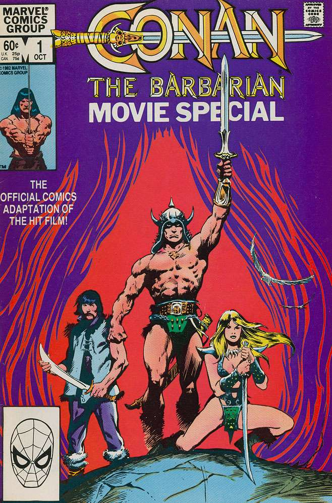 Conan the Barbarian Movie Special Vol 1