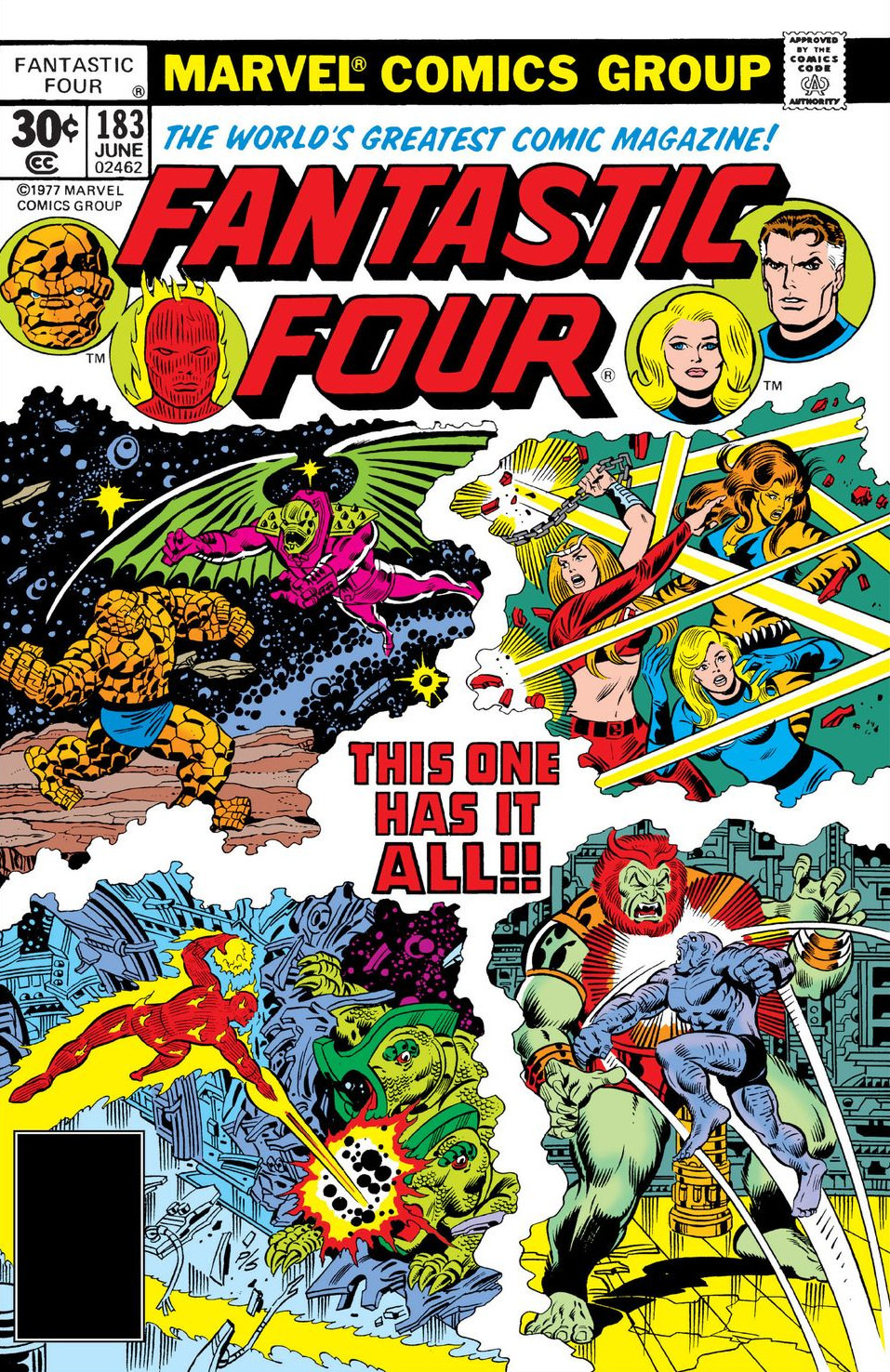 Fantastic Four Vol 1 183