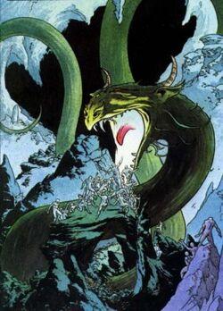 Hel's Dragon (Earth-616) from Marvel Graphic Novel Vol 1 15 0001.jpg