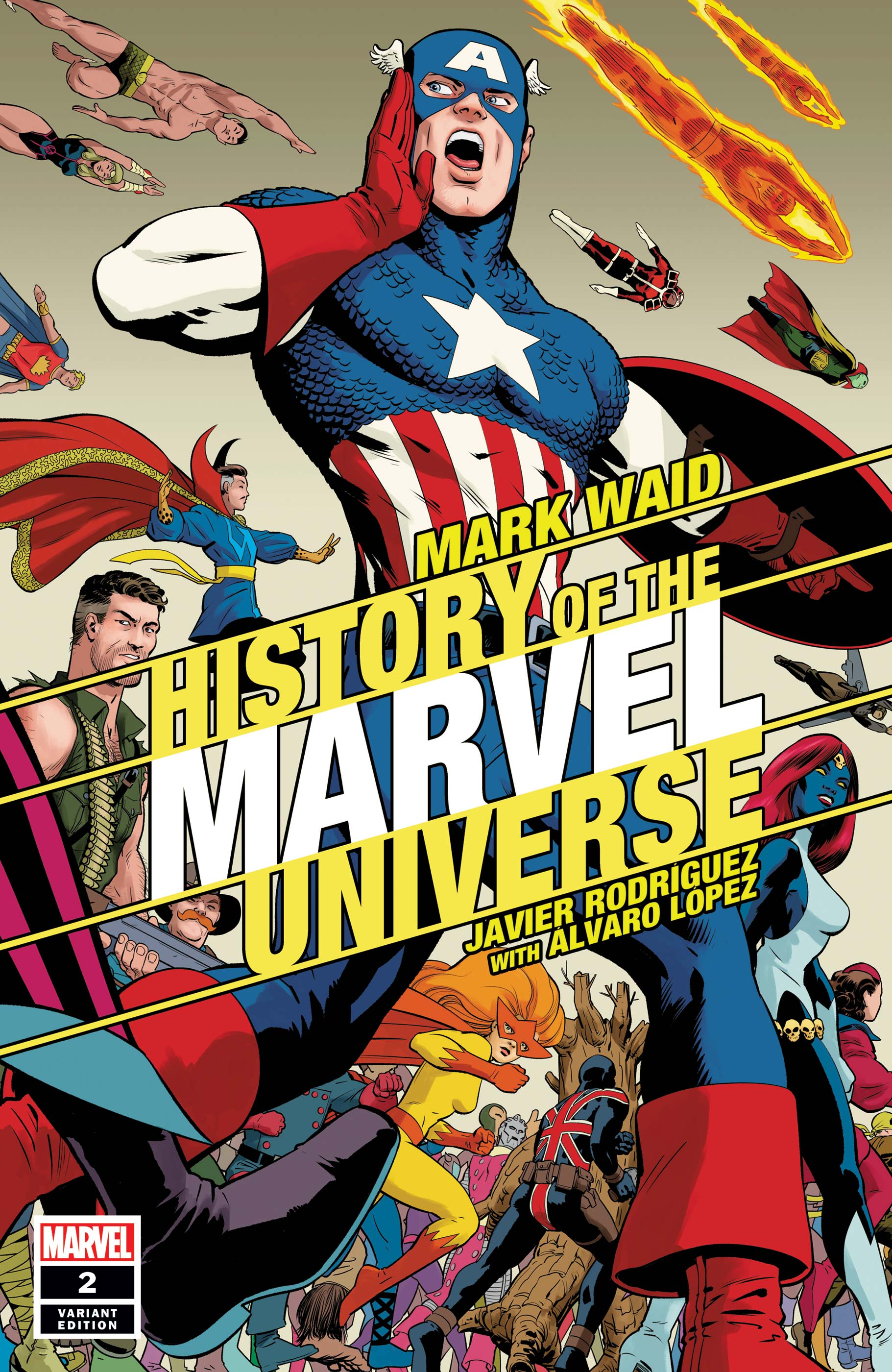 History of the Marvel Universe Vol 2 2 Rodriguez Variant.jpg