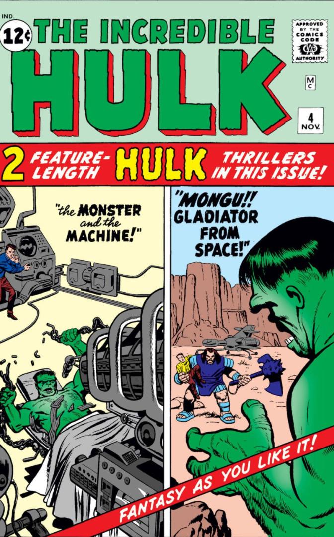 Incredible Hulk Vol 1 4