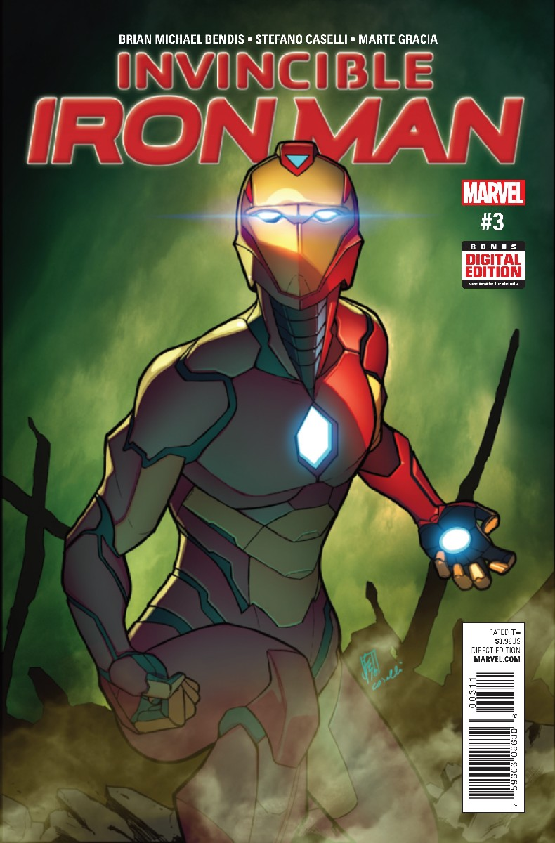 Invincible Iron Man Vol 4 3