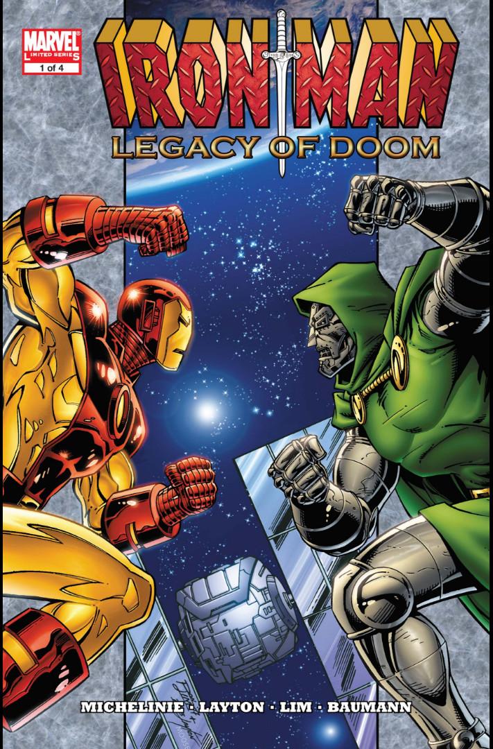 Iron Man: Legacy of Doom Vol 1 1