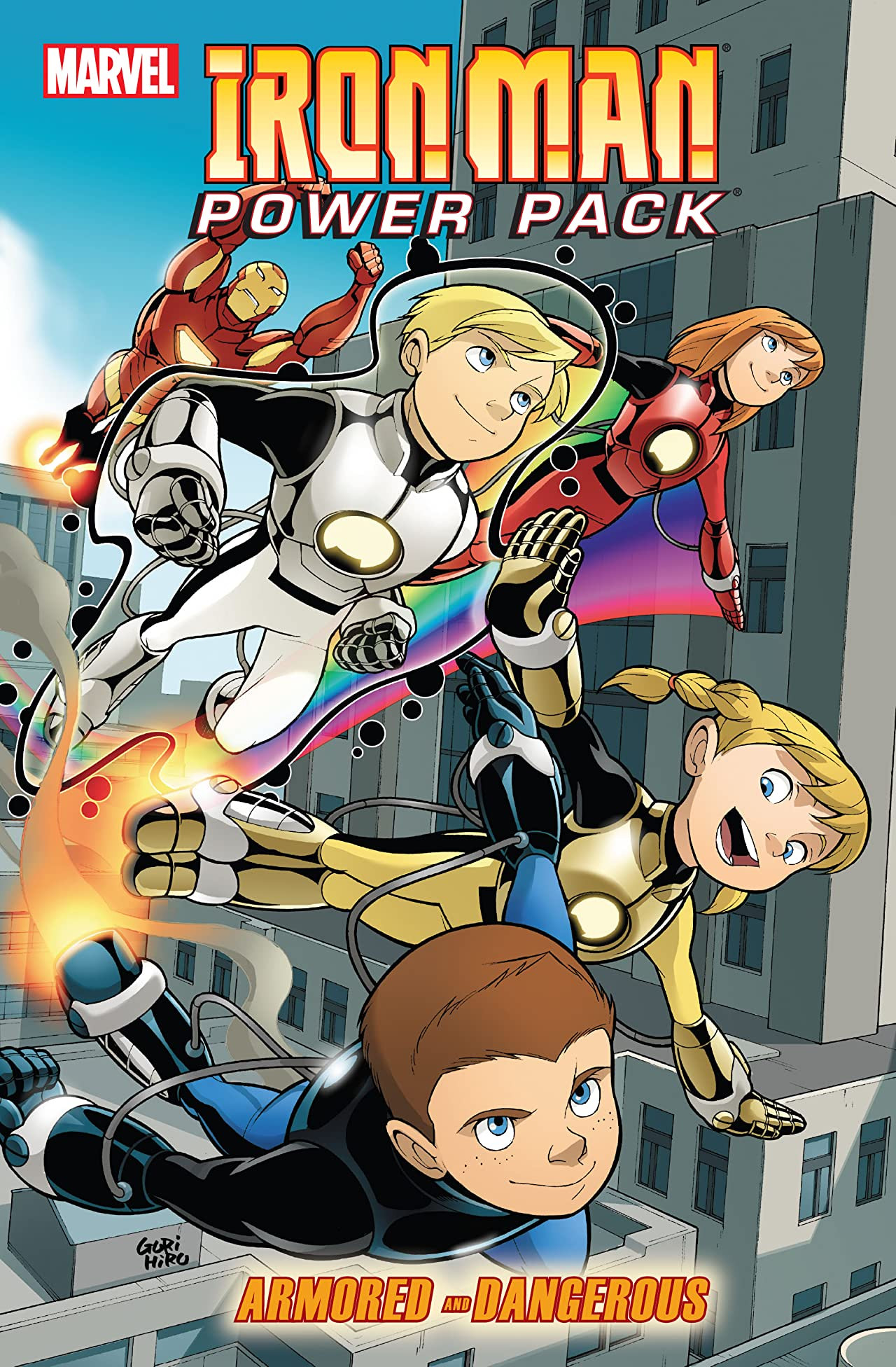 Iron Man and Power Pack: Armored and Dangerous TPB Vol 1 1