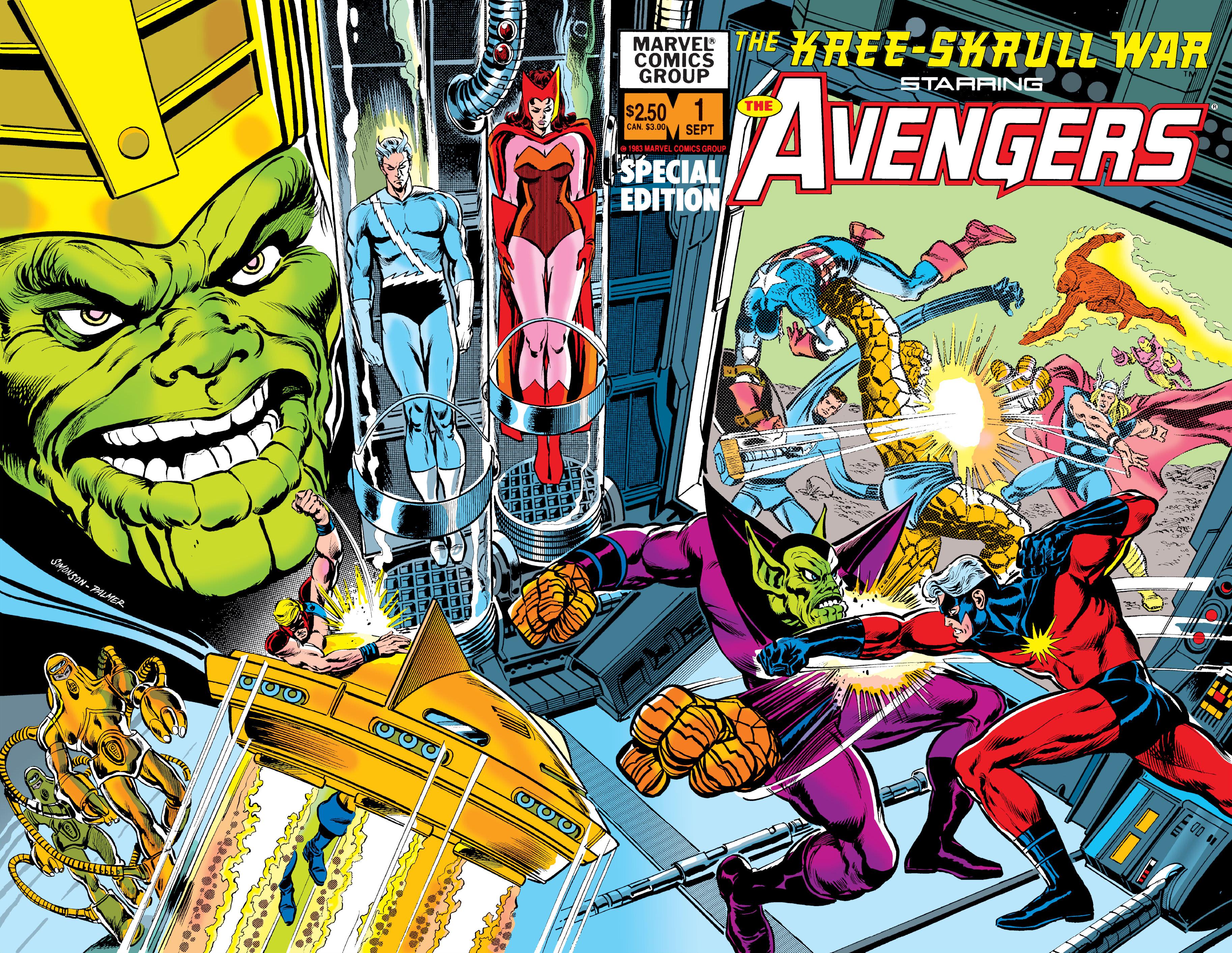 Kree-Skrull War Starring the Avengers Vol 1 1 Wraparound.jpg