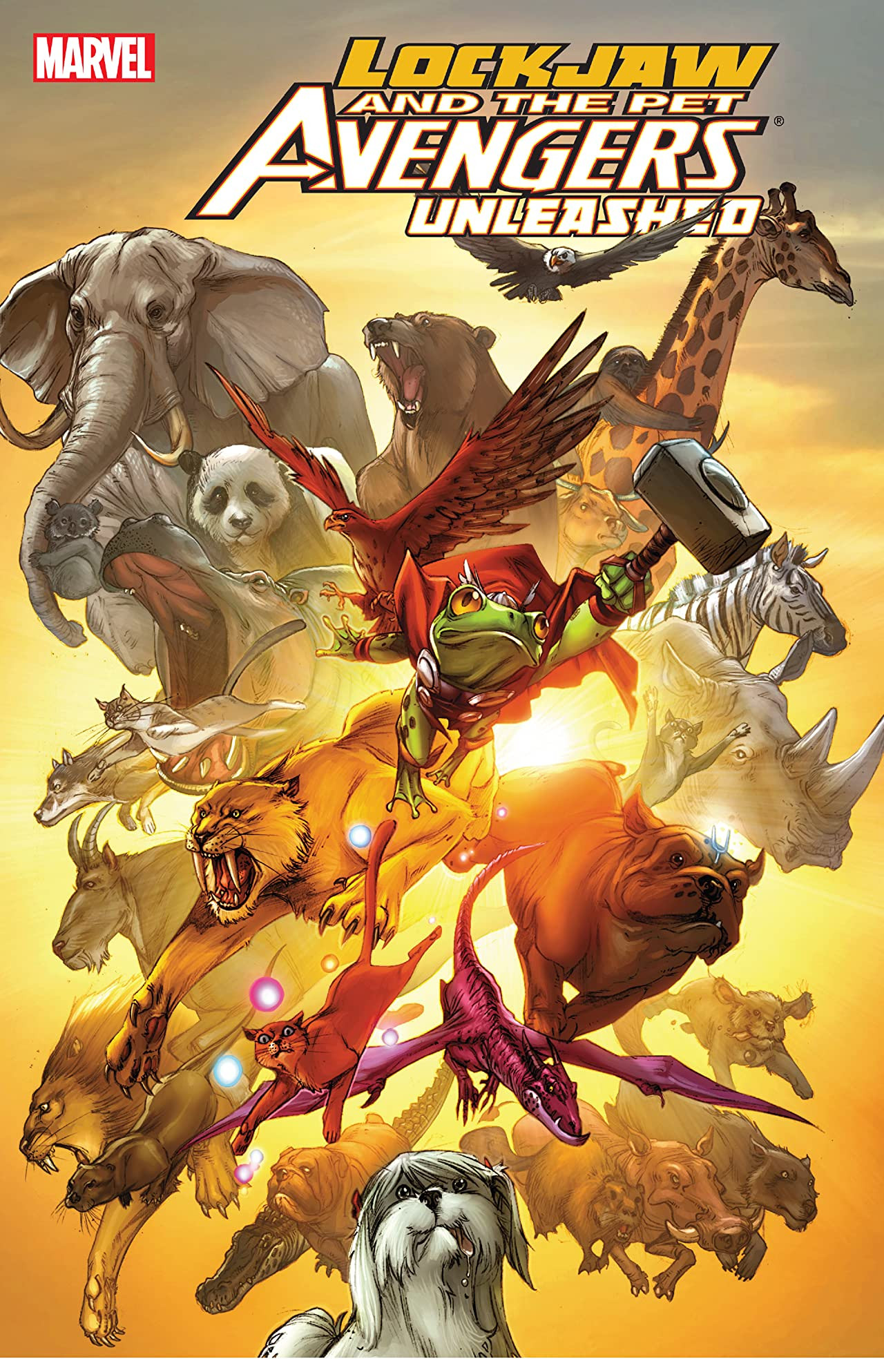 Lockjaw and the Pet Avengers Unleashed TPB Vol 1 1