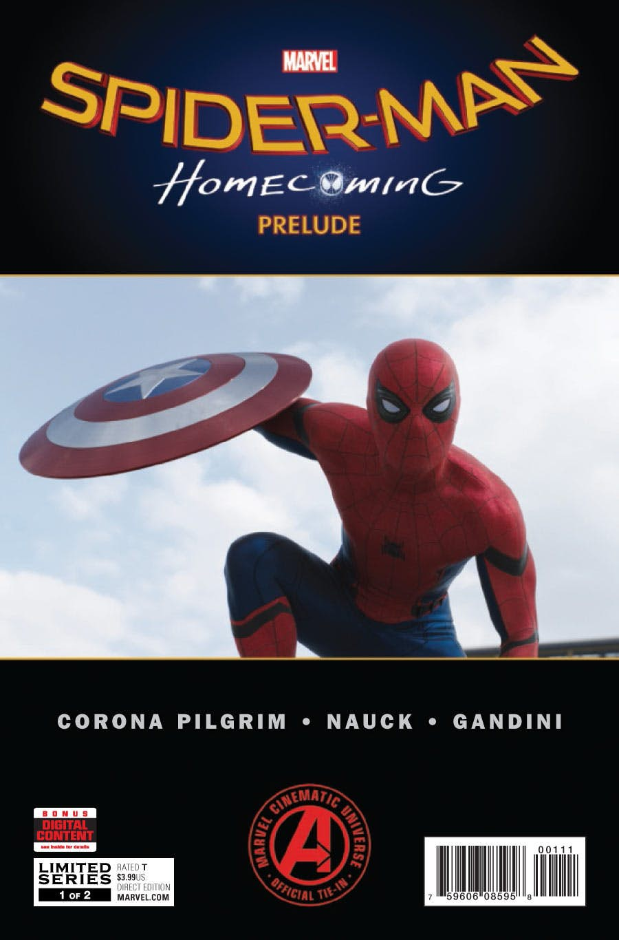Marvel's Spider-Man: Homecoming Prelude Vol 1 1