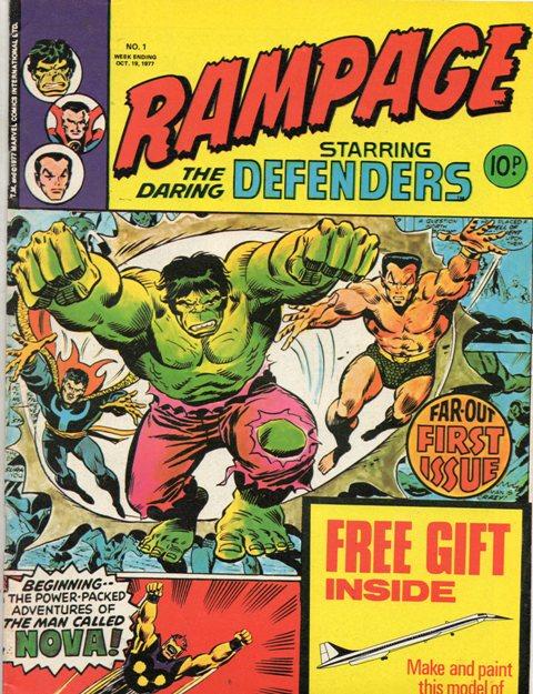 Rampage Vol 1