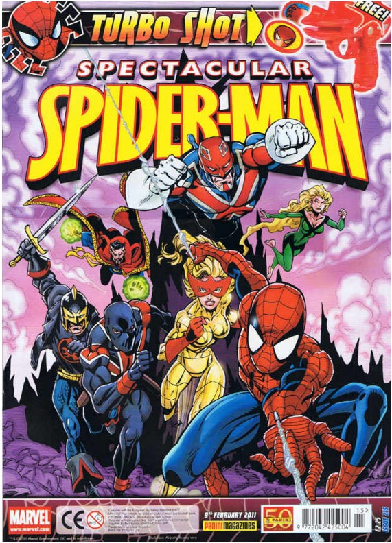 Spectacular Spider-Man (UK) Vol 1 215