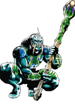 Tiamat (Champion) (Earth-616) from Deadpool Corps Rank and Foul Vol 1 1 0001.png