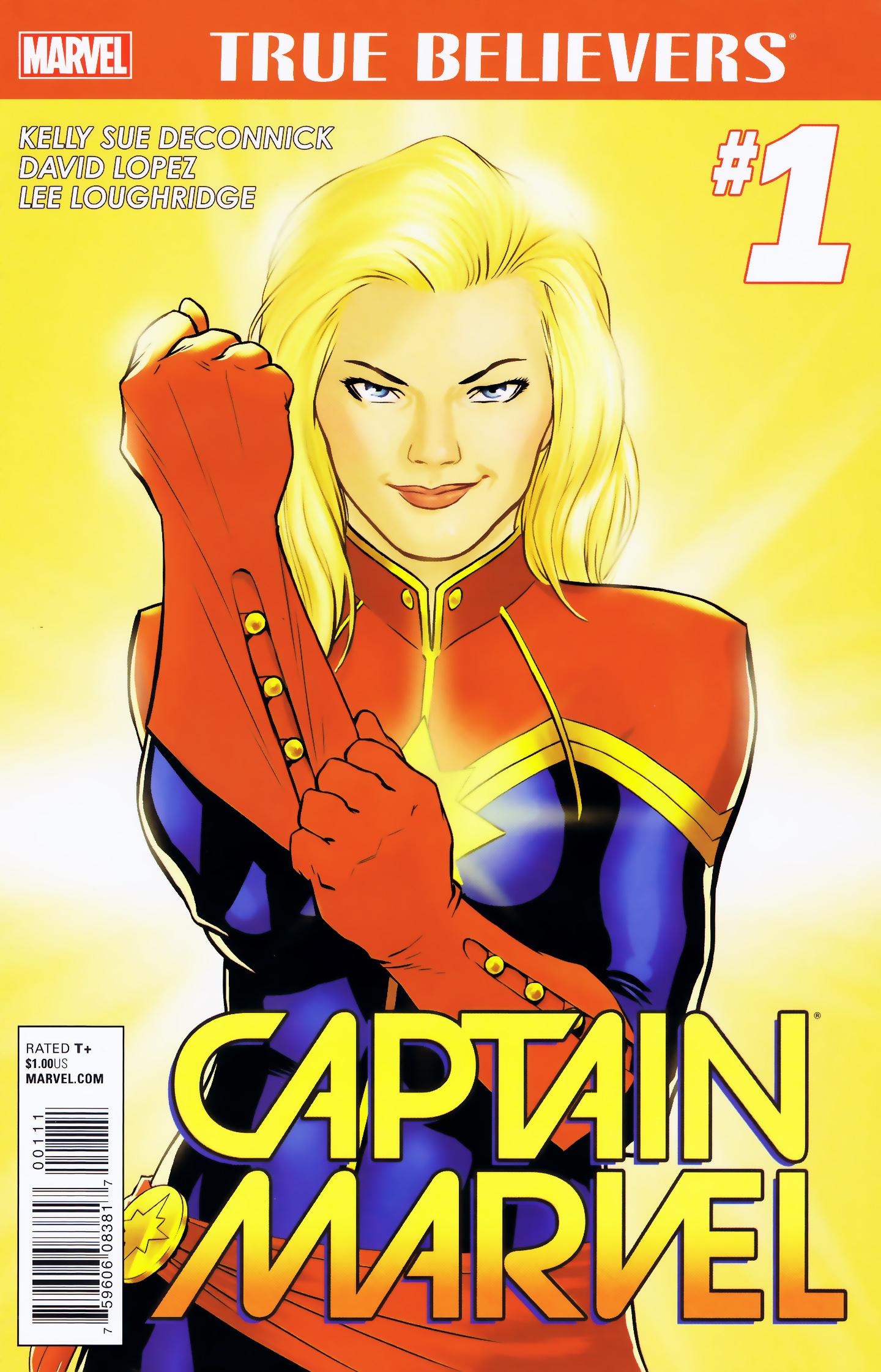 True Believers: Captain Marvel Vol 1 1