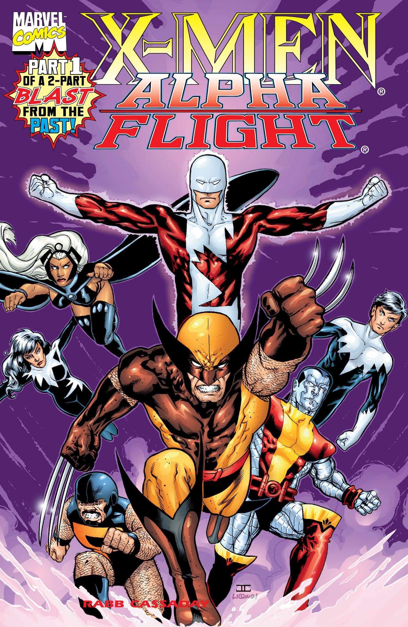 X-Men/Alpha Flight Vol 2