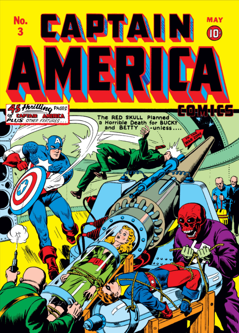 Captain America Comics Vol 1 3