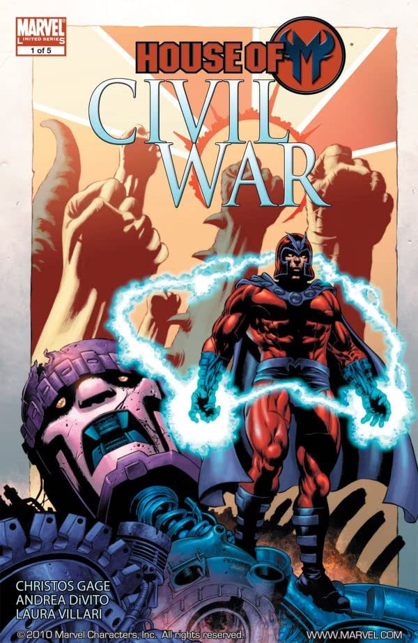 Civil War: House of M Vol 1 1