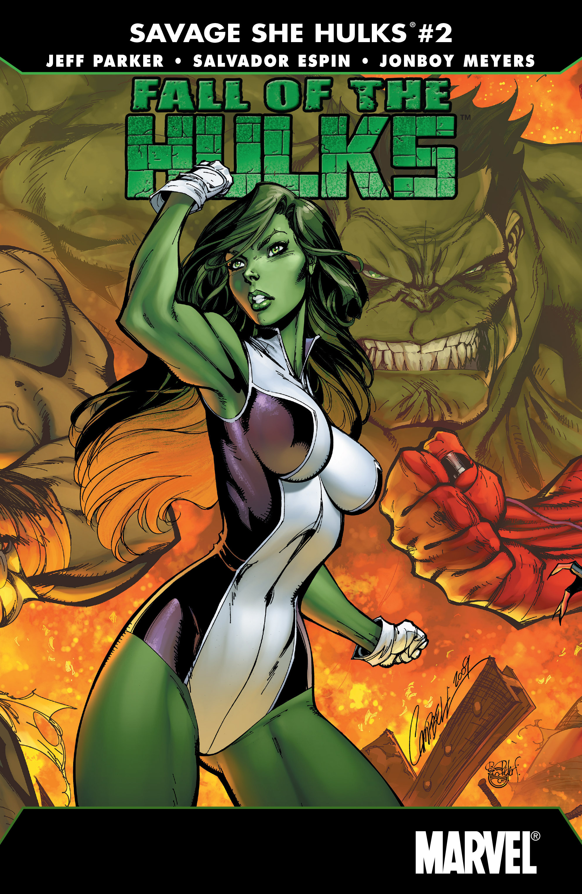 Fall of the Hulks: The Savage She-Hulks Vol 1 2