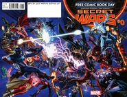 Free Comic Book Day Vol 2015 Secret Wars Wraparound