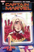 Marvel Action Captain Marvel Vol 2 3