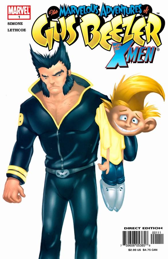 Marvelous Adventures of Gus Beezer: X-Men Vol 1 1