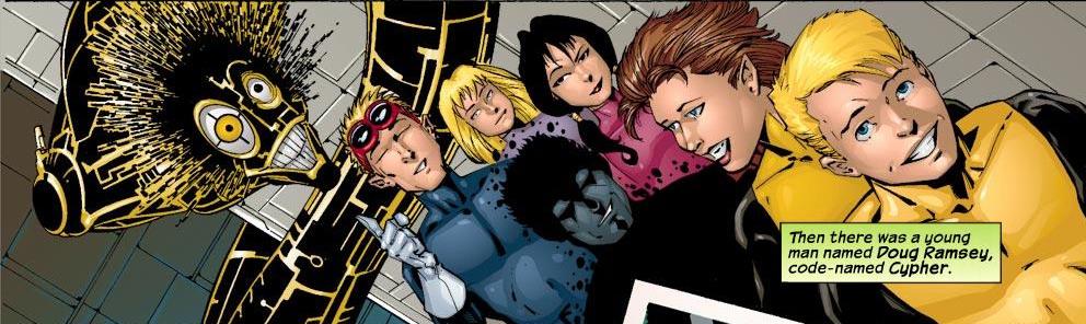 New Mutants (Earth-8545)/Gallery