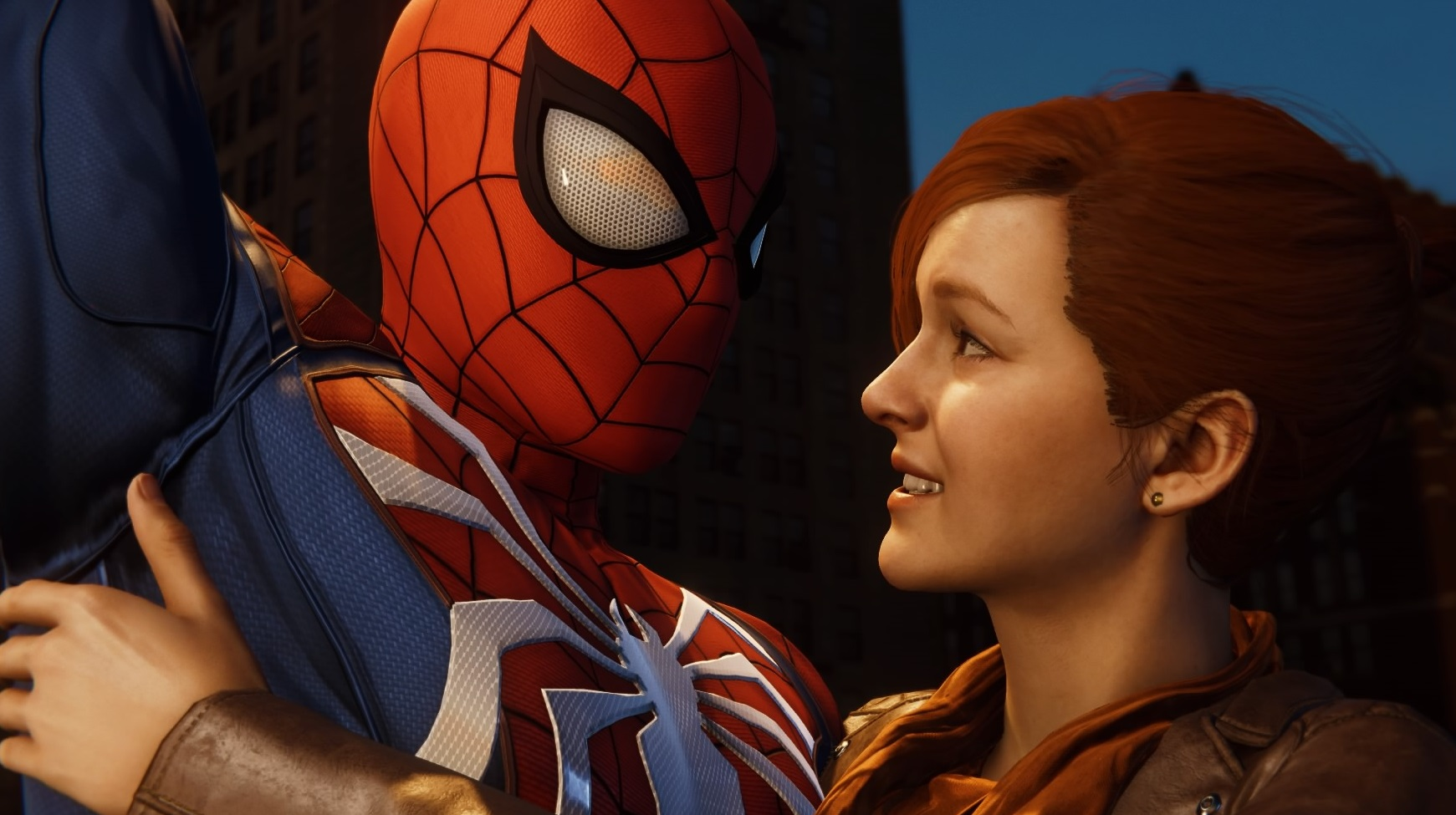 Peter Parker (Earth-1048) and Mary Jane Watson (Earth-1048) from Marvel's Spider-Man (video game) 001.jpg