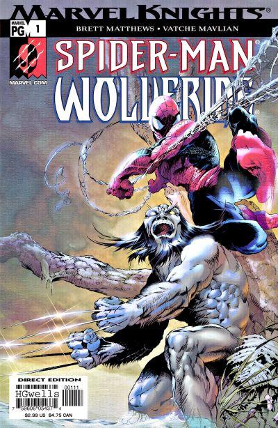 Spider-Man and Wolverine Vol 1 1