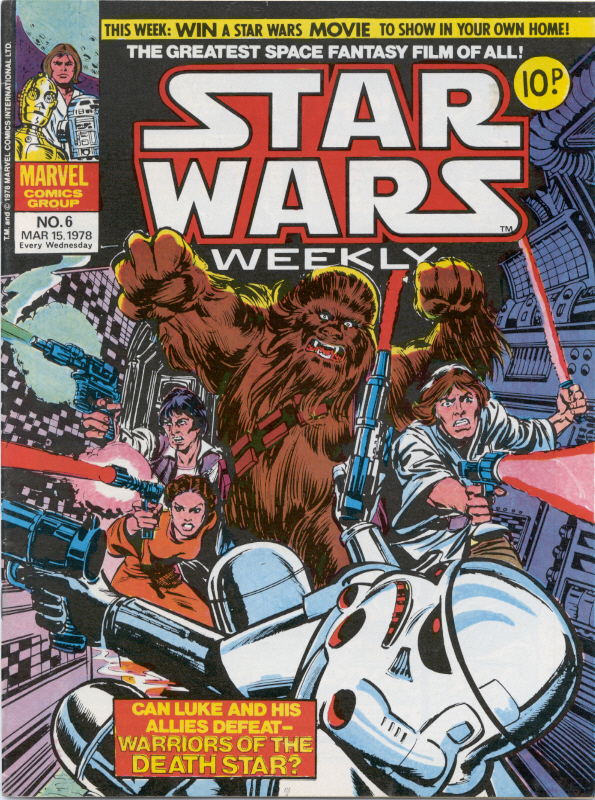 Star Wars Weekly (UK) Vol 1 6