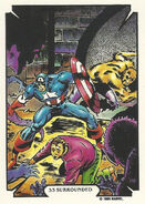 Steven Rogers (Earth-616) from Mike Zeck (Trading Cards) 0003