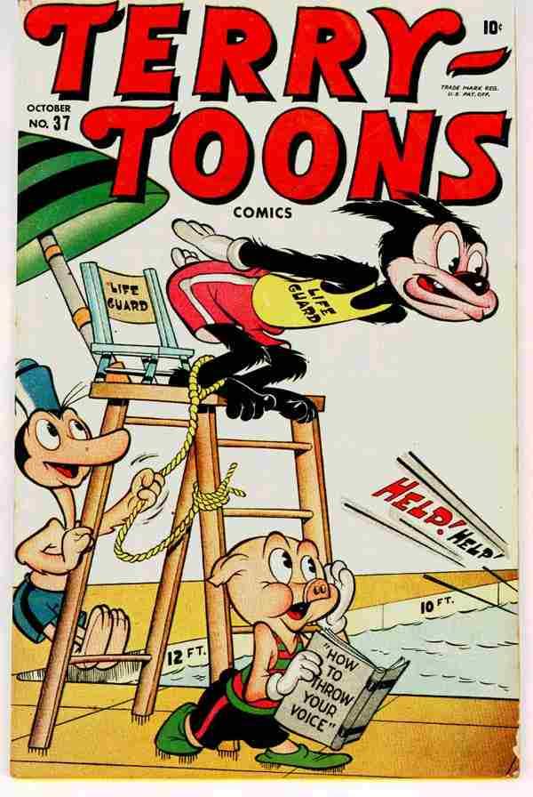 Terry-Toons Comics Vol 1 37
