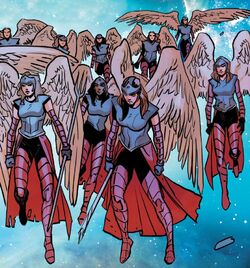 Angels (Tenth Realm) from Asgardians of the Galaxy Vol 1 10 001.jpg