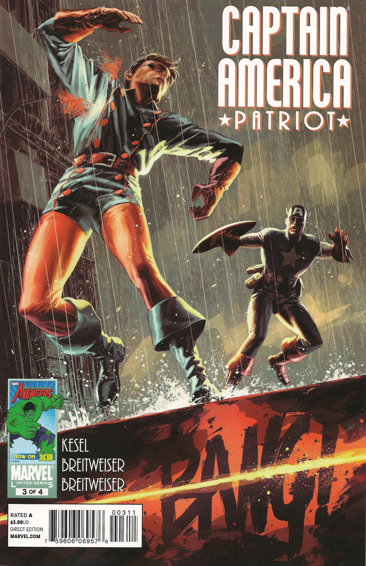 Captain America: Patriot Vol 1 3