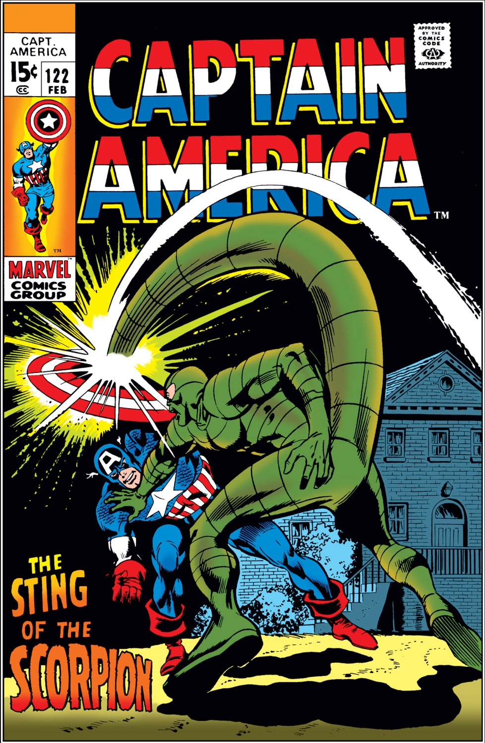 Captain America Vol 1 122