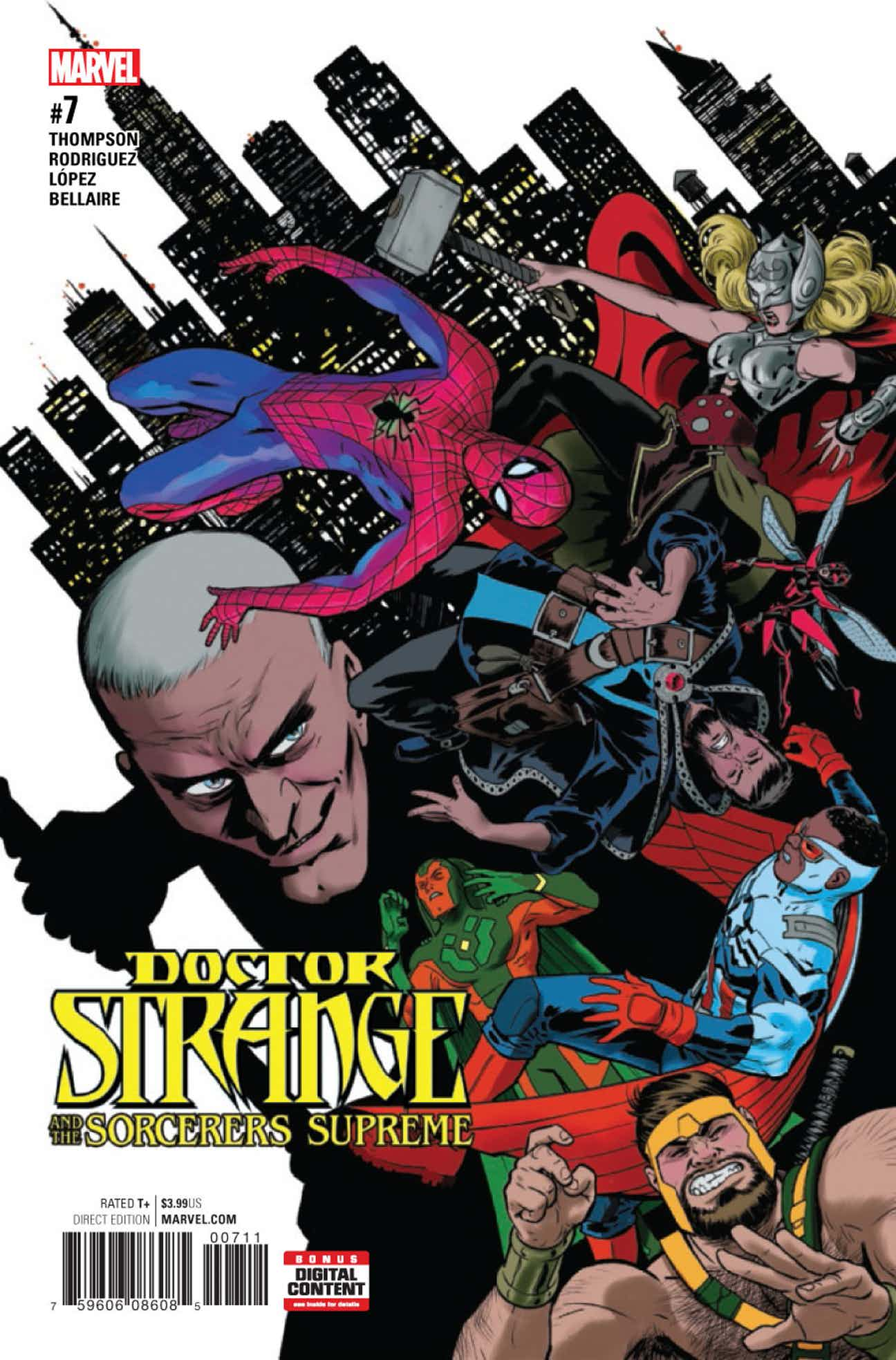 Doctor Strange and the Sorcerers Supreme Vol 1 7