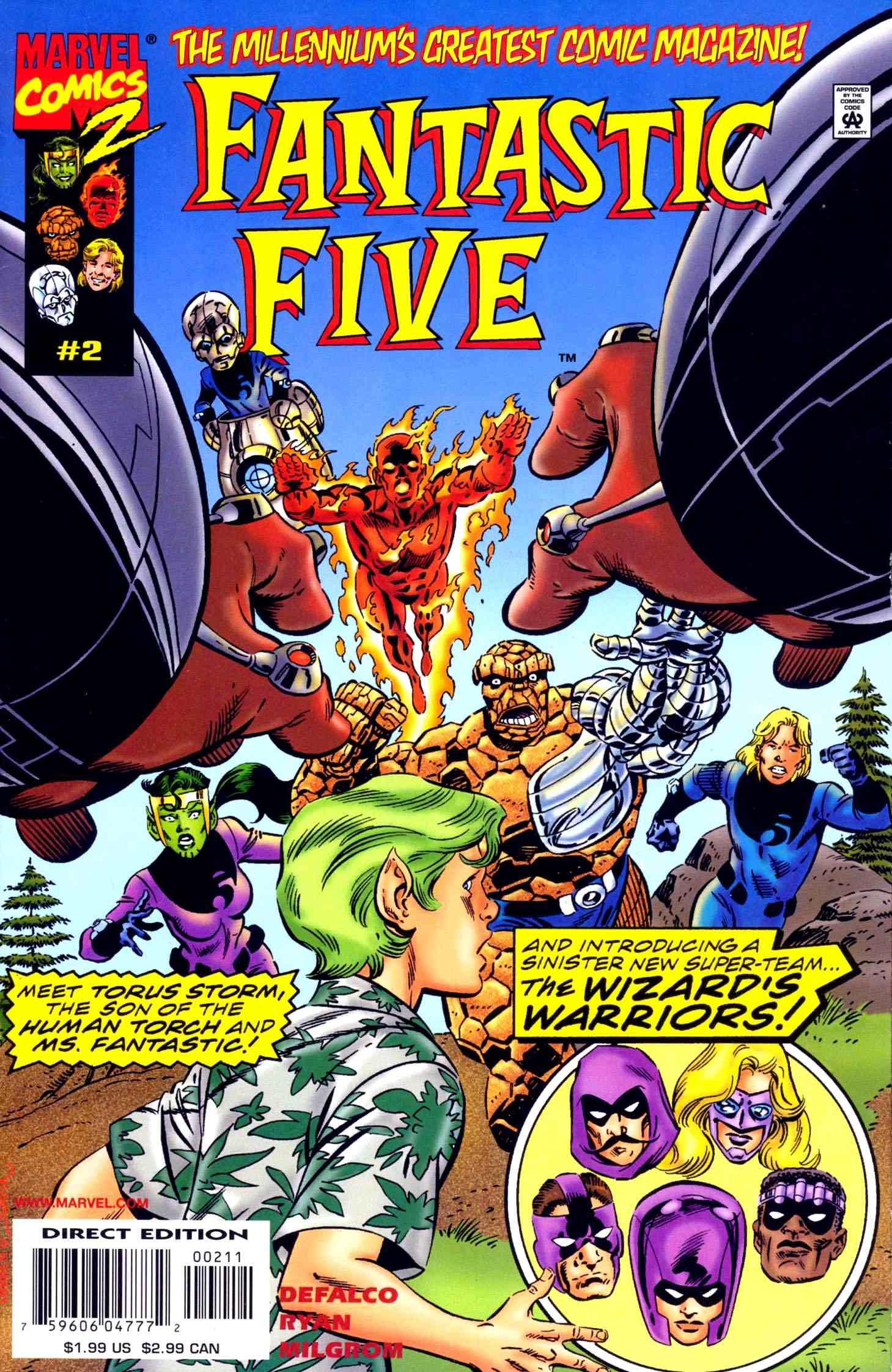 Fantastic Five Vol 1 2