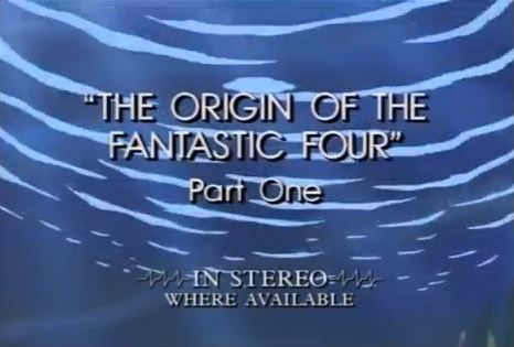 Fantastic Four (1994 animated series) Season 1 1