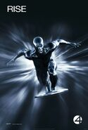 Fantastic Four Rise of the Silver Surfer (film) poster 2