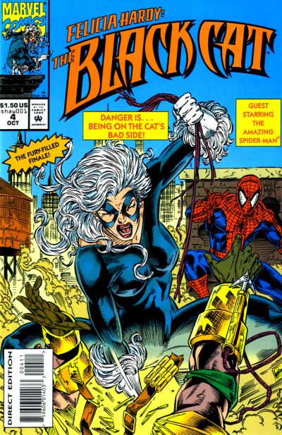 Felicia Hardy: The Black Cat Vol 1 4