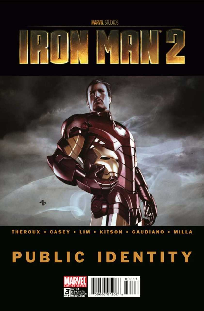 Iron Man 2: Public Identity Vol 1 3