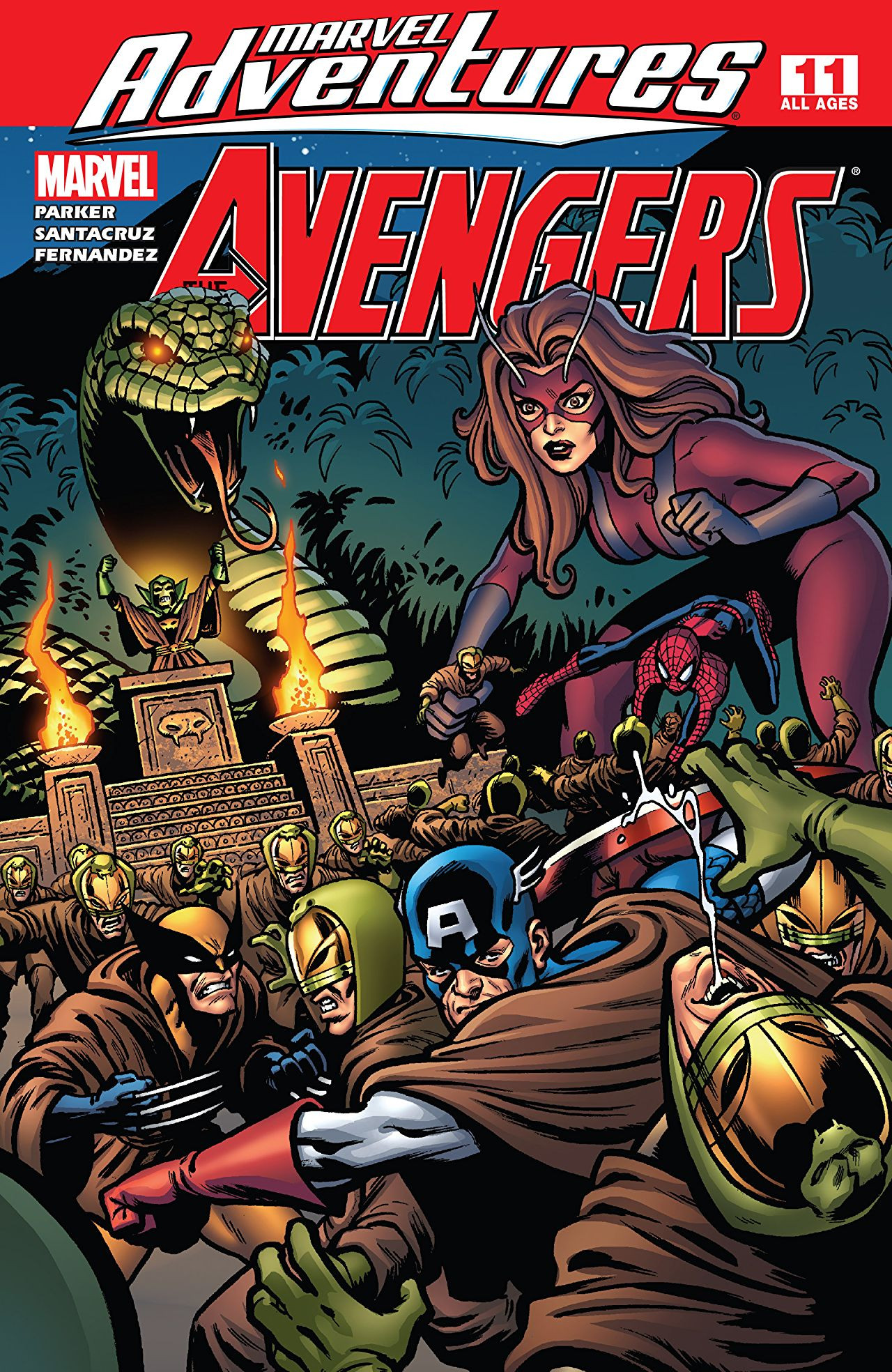 Marvel Adventures: The Avengers Vol 1 11