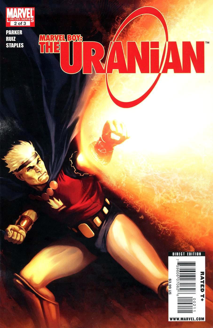 Marvel Boy: The Uranian Vol 1 2