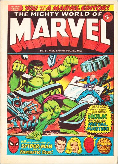 Mighty World of Marvel Vol 1 11