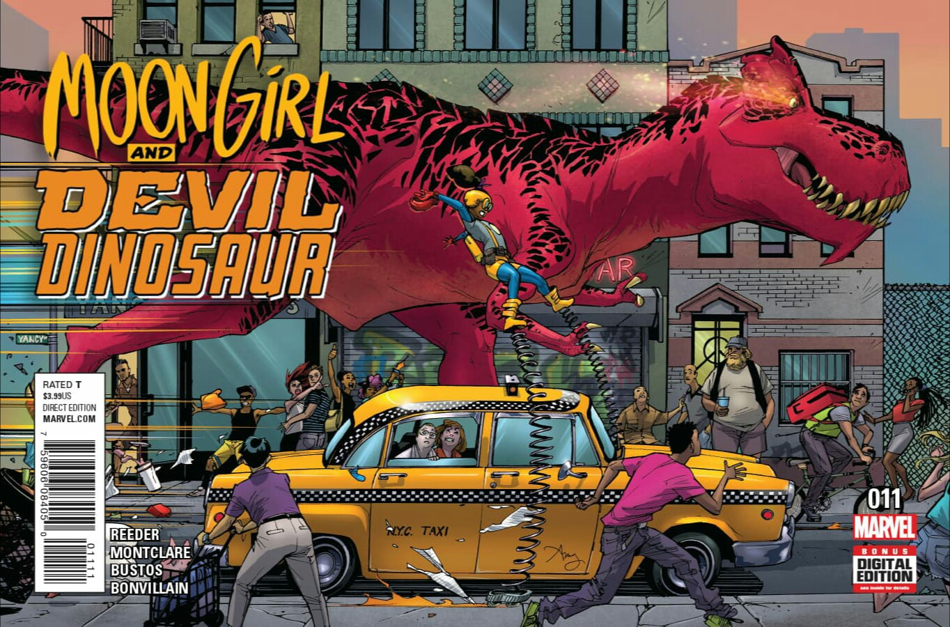 Moon Girl and Devil Dinosaur Vol 1 11