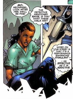 Rave, Cecilia Reyes (Earth-616), and Kurt Wagner (Earth-616) from X-Men Vol 2 101 001.jpg
