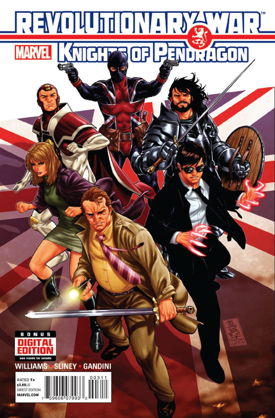 Revolutionary War: Knights of Pendragon Vol 1 1