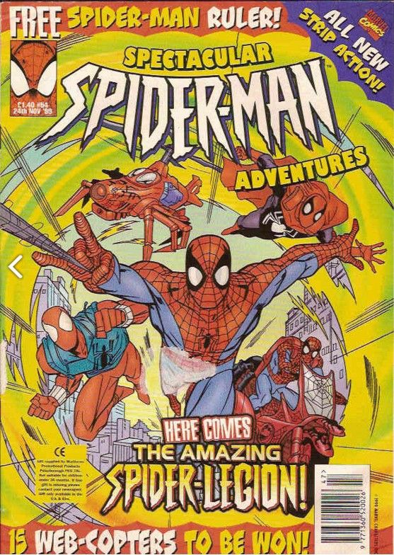 Spectacular Spider-Man (UK) Vol 1 54