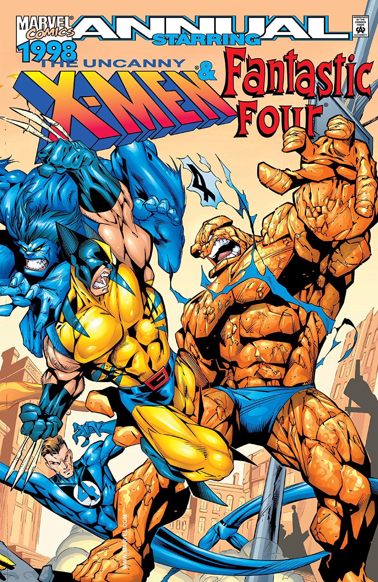 Uncanny X-Men Annual Vol 1 1998