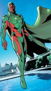 Vision (Earth-616) from Avengers No Road Home Vol 1 1 001