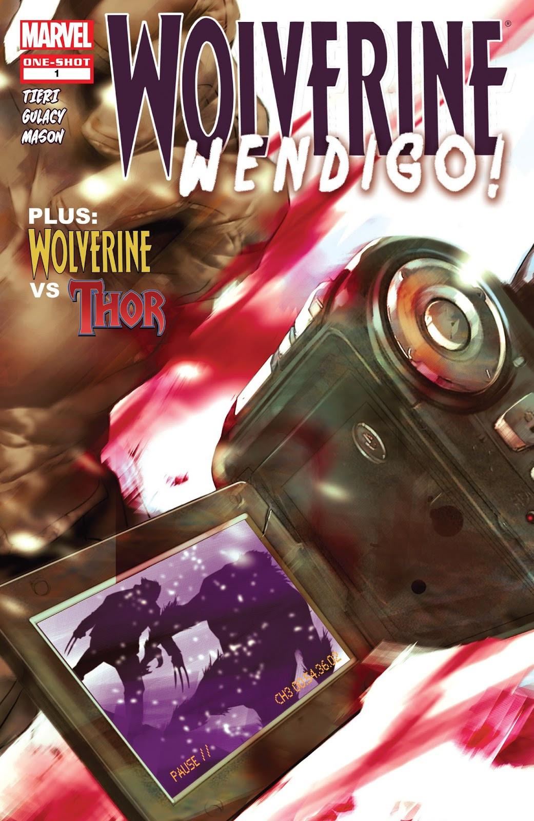Wolverine: Wendigo! Vol 1 1